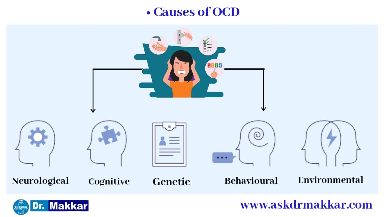 Causes of OCD  Obsessivs Compulsive Disorder