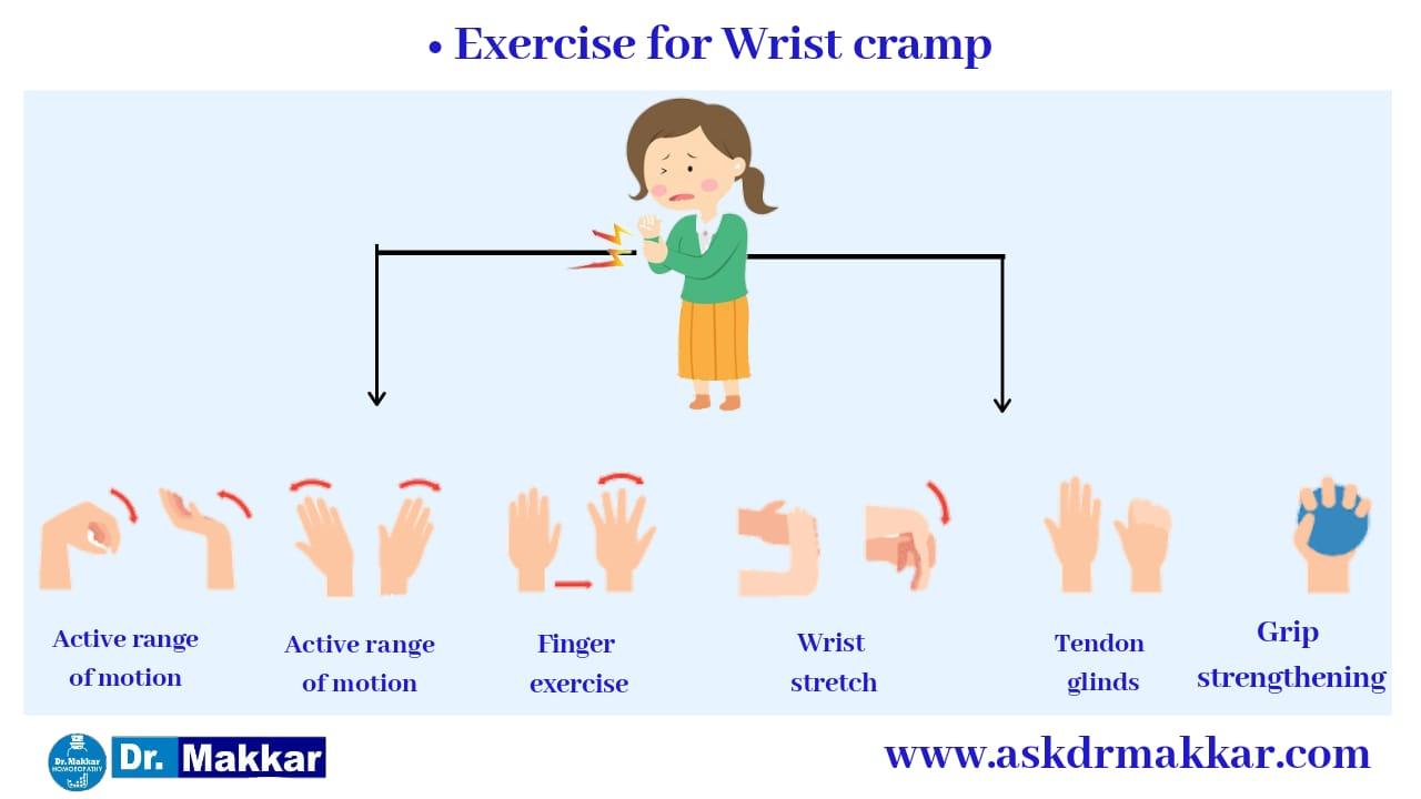 Excercise for Writers cramp || लेखक का ऐंठन के लिए व्यायाम करें