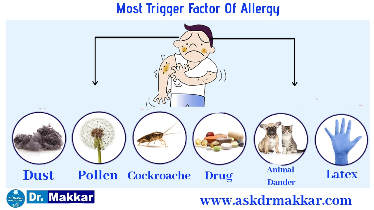 Main Trigger for allergic reaction