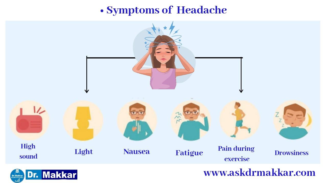 Symptoms of Headache || सिरदर्द के लक्षण
