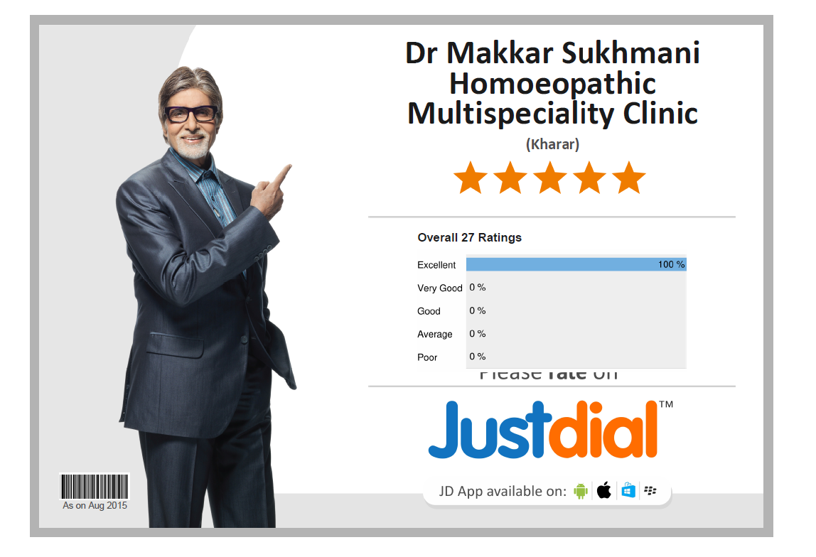 Satiesfied Patient of Dr Makkar