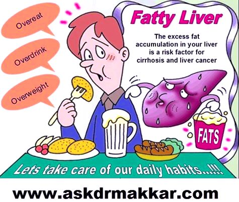 how to clear fatty liver